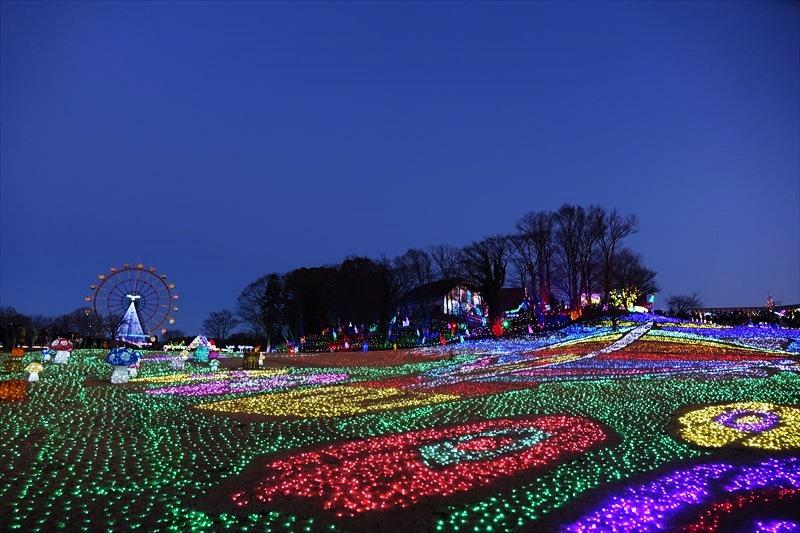 東京ドイツ村 イルミネーション