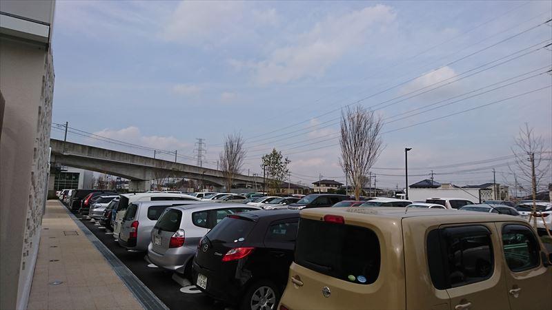柏の葉T-SITE 駐車場