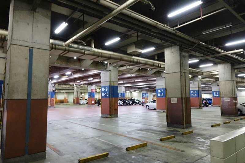 首里城 駐車場