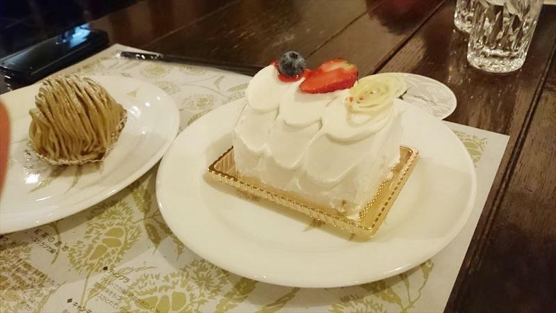栗の木テラス ケーキ