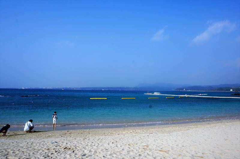 沖縄 真夏 夏休み