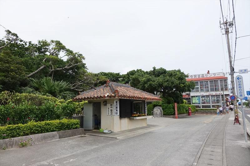 沖縄観光 ひめゆりの塔 駐車場