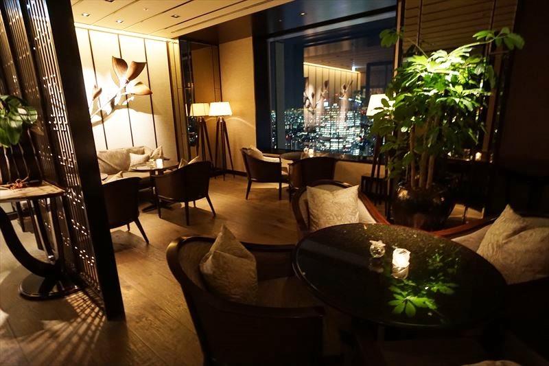 ザリッツカールトン東京 エグゼグティブスイート クラブラウンジ フードプレゼンテーション タワーズ