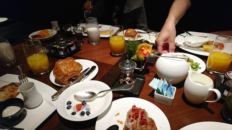 京都リッツカールトン 子連れ 朝食ビュッフェ