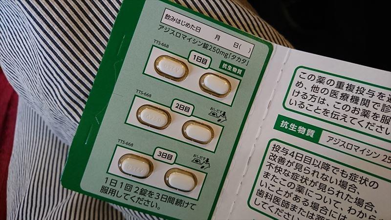 副鼻腔炎 抗生剤